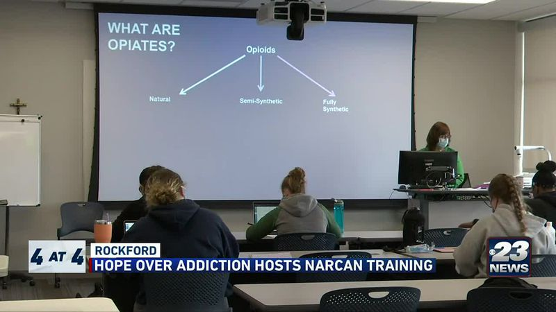 Hope Over Addiction hosts Narcan training