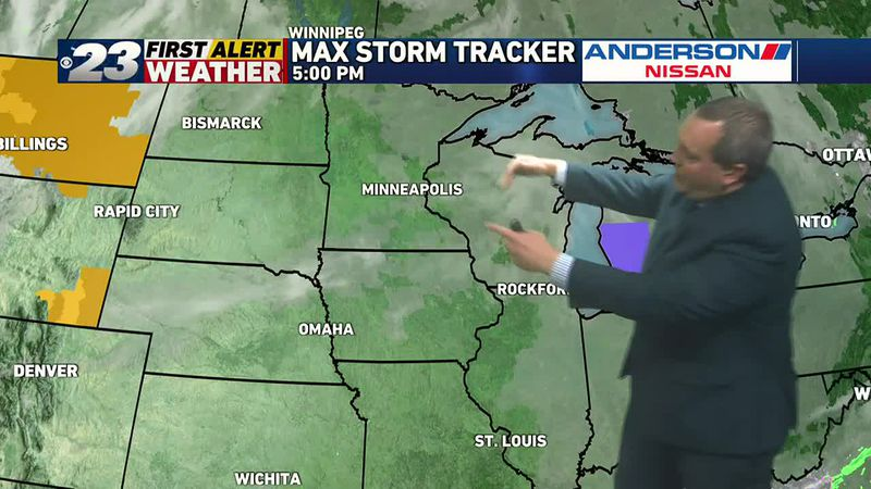 While mostly cloudy skies are likely for the first part of Tuesday, it's possible that sun may...