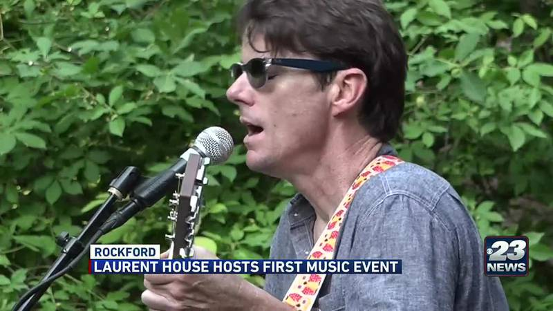 Laurent House hosts first music event