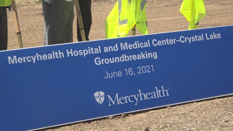 Mercyhealth breaks ground on a new hospital in Crystal Lake
