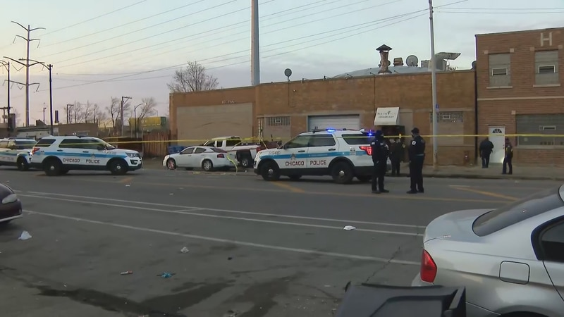 Mass shooting on Chicago's South Side.