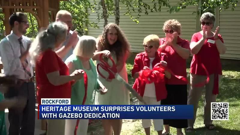 Gazebo honors Dick and Barb Berman