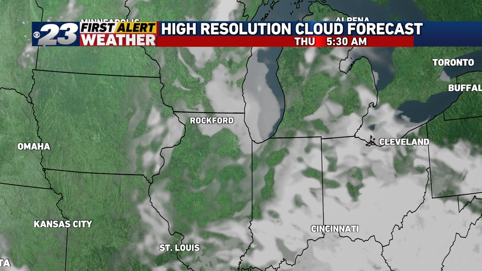 Clouds and fog may hinder seeing the partial eclipse.