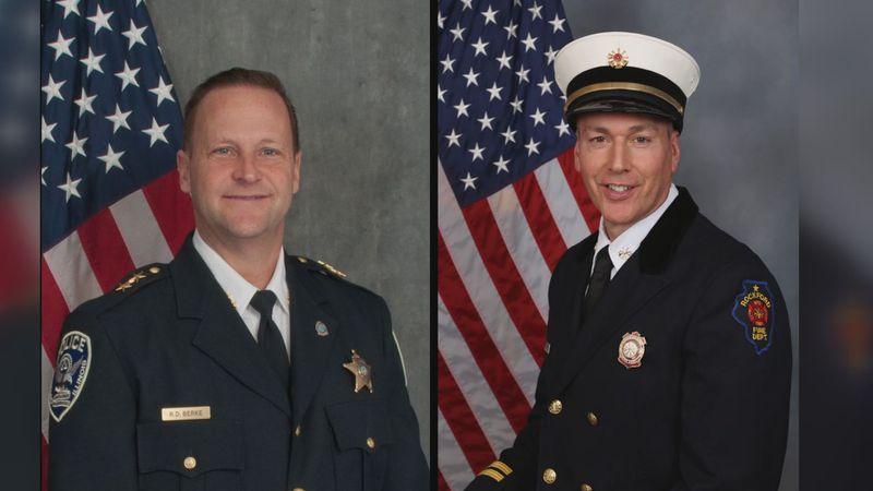 Interim Rockford Police & Fire Chiefs