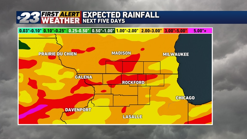 There's agreement among our computer forecast models suggesting some healthy rains may be in...