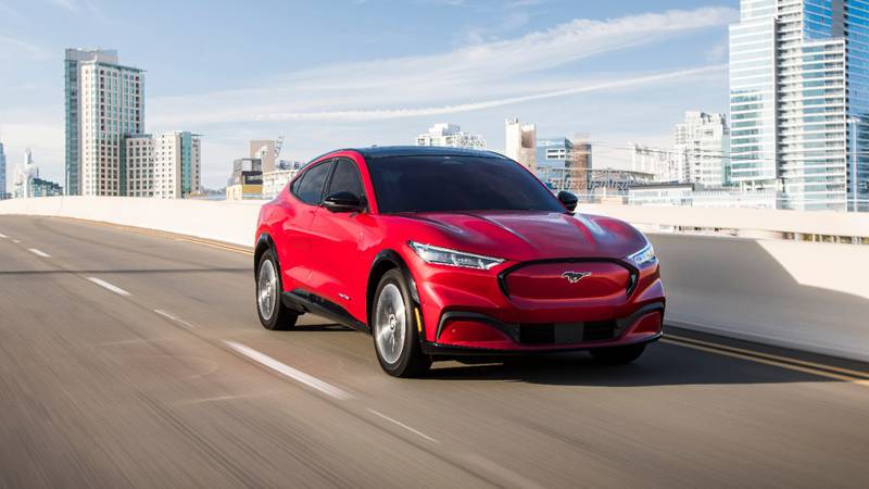 The automaker says windshields and sunroofs on the all-electric SUVs may not have been bonded...