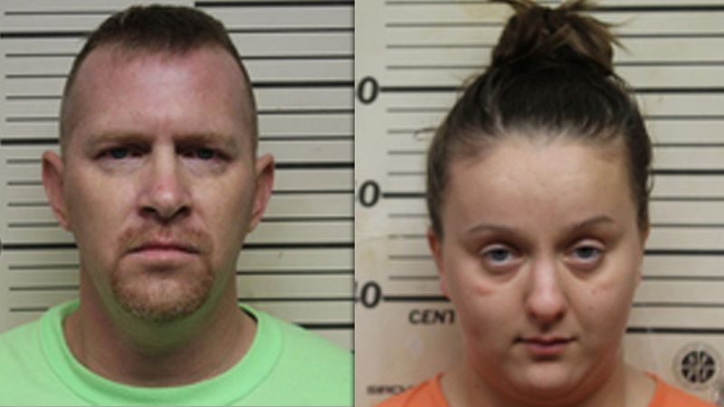 Ethan Mast, 35, and Kourtney Aumen, 21, have been booked into the Benton County Jail over a...