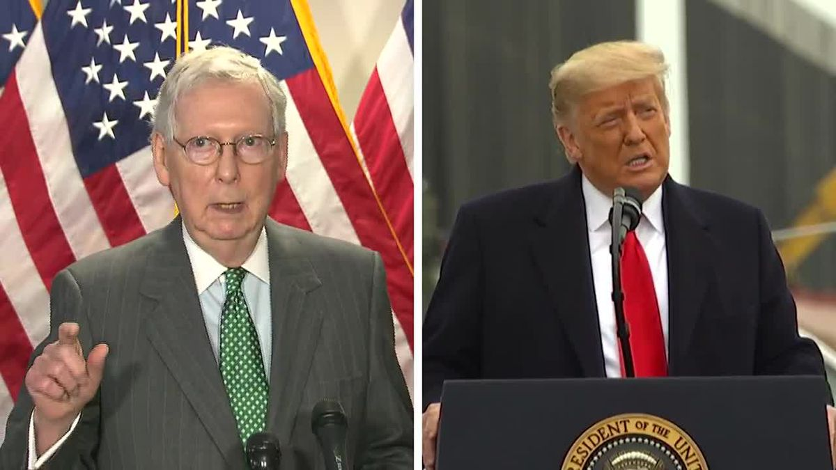"""The """"New York Times"""" is reporting McConnell thinks Trump committed impeachable offenses and..."""