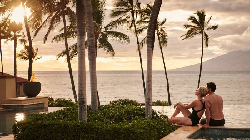 Four Seasons Resort Maui as seen through the visionary lens of celebrated fashion photographer,...