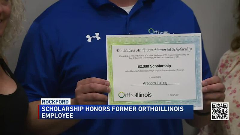 Scholarship honors former OrthoIllinois employee