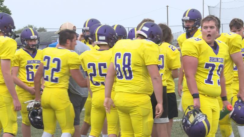 Orangeville won 56-8, the final. The crew will face Westminster Christian at home next week,...