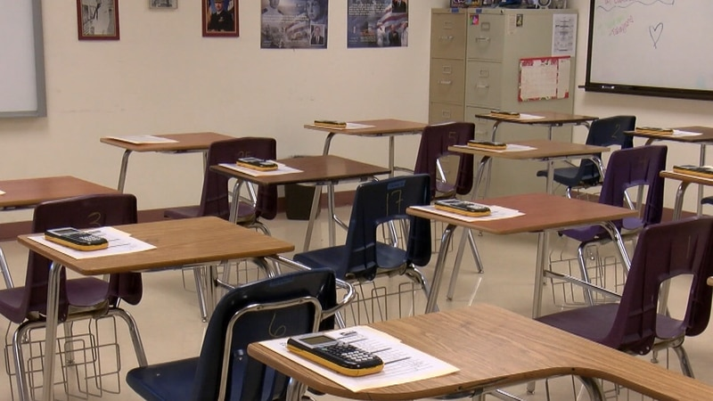 Nearly 46% of public schools offered five days a week of in-person to all students in February,...