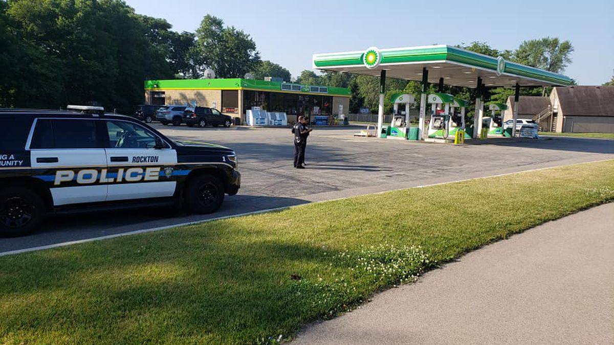 About 5:30 a.m. Sunday, the BP gas station in Rockton was robbed.
