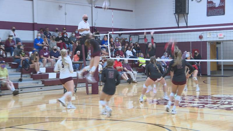 Standouts were Dakota's Abi Schlueter and Pearl City's Savanah Brandt, both outside hitters...
