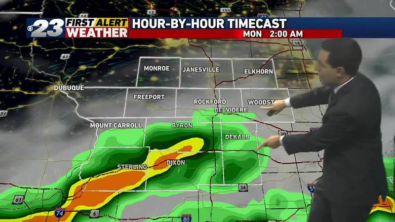 Rain chances remain in forecast