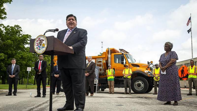 "The splashy, $6 million Illinois tourism campaign Gov. J.B. Pritzker unveiled this month, ""Time..."