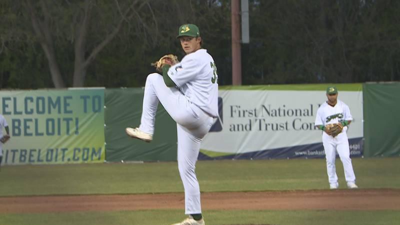 Beloit Snappers starting pitcher Zach McCambley went seven innings of perfect baseball,...
