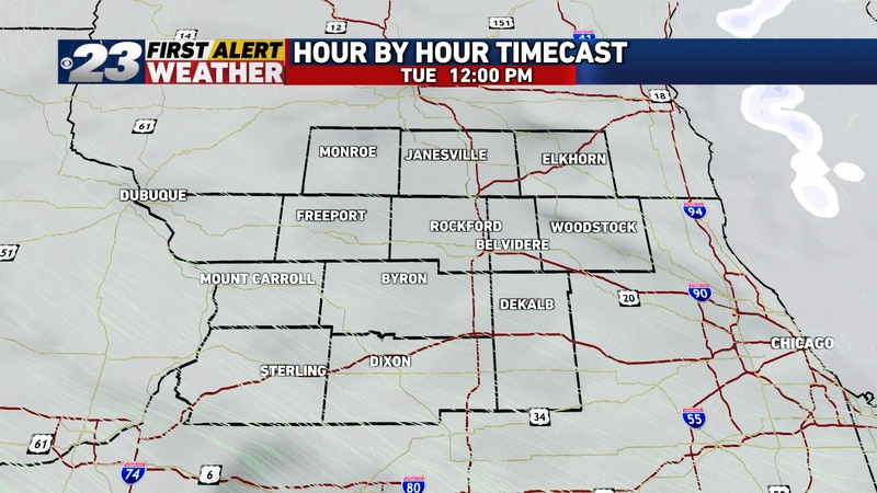 Clouds, which have gathered overhead Monday night, will dominate for most, if not all of the...