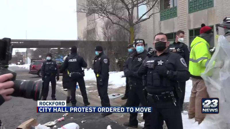 clash between protesters and police