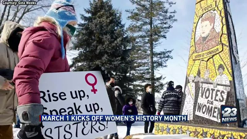 March 1 kicks off Women's History Month.