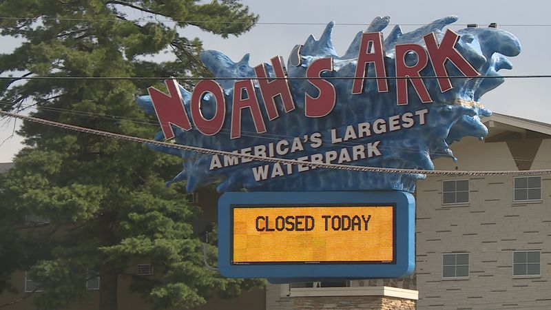 The Wisconsin Dells waterpark closed Saturday, Aug. 1 after two employees tested positive for...