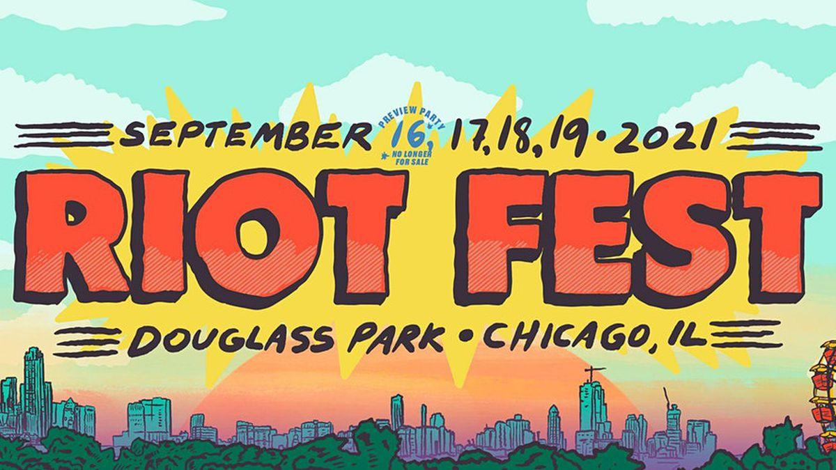 Riot Fest 2021 Header
