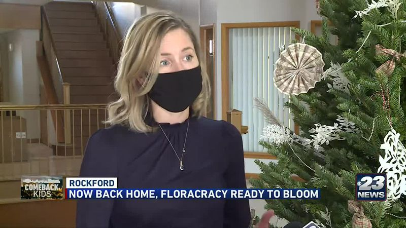 Sarah-Eva Marchese operates Floracracy out of the historic Talcott Building in downtown...