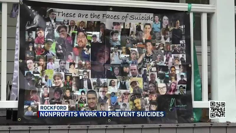 September is suicide prevention month, but several Rockford nonprofits work to prevent it all...