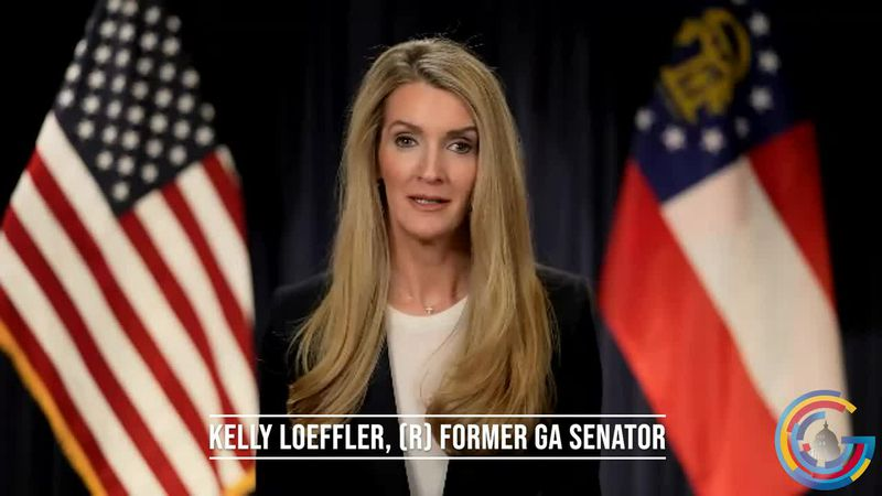 Former Senator Kelly Loeffler does an interview on her new initiative, 'Greater Georgia'