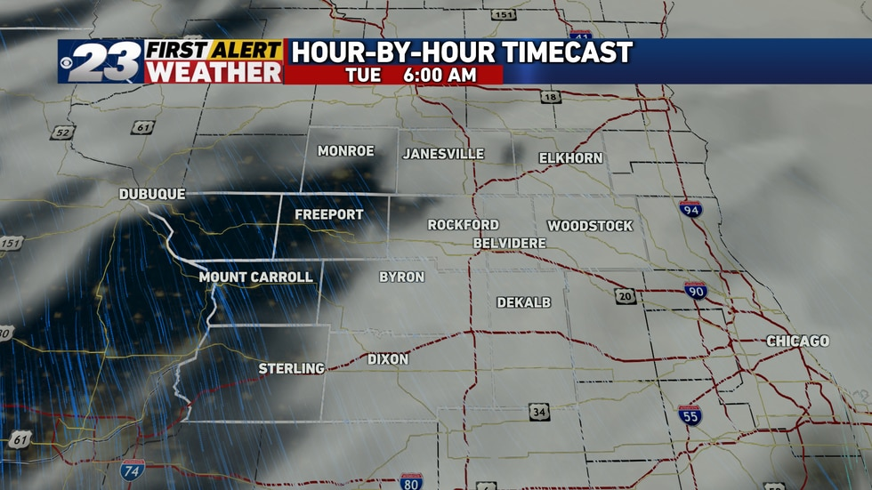 Some clearing is possible late Monday night or early Tuesday, but clouds are likely to remain...