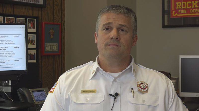 Rockford Fire Chief Derek Bergsten is one of four finalists in Fort Collins' search for a new...