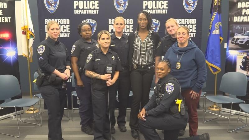 Female police recruits