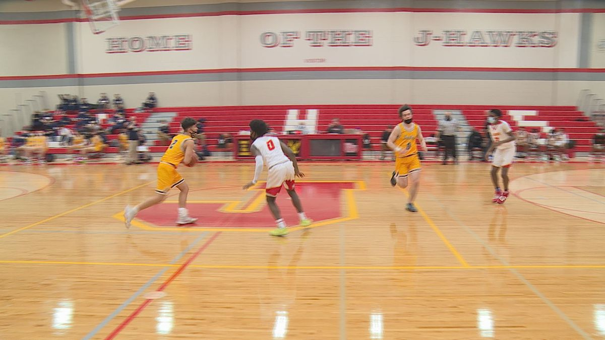 Jefferson hosted Sterling to open its boys basketball season on Friday.