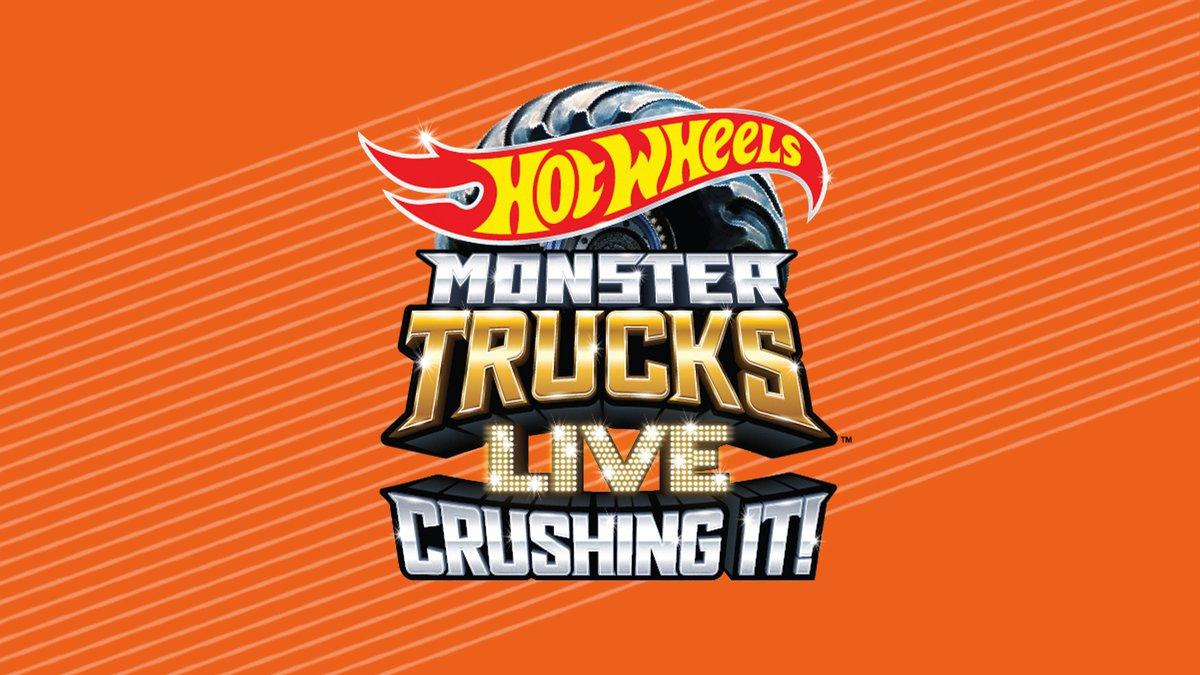 Hot Wheel Monster Trucks LIVE Crushing It!
