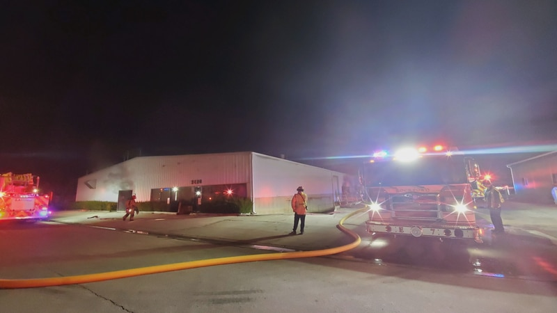 The Rockford Fire Department responded to a commercial structure fire early Saturday morning.