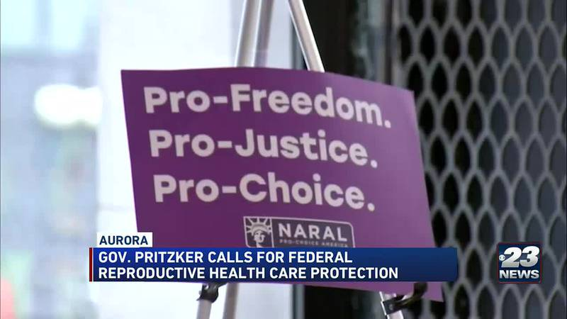 Gov. Pritzker calls for Federal Reproductive Healthcare Protection