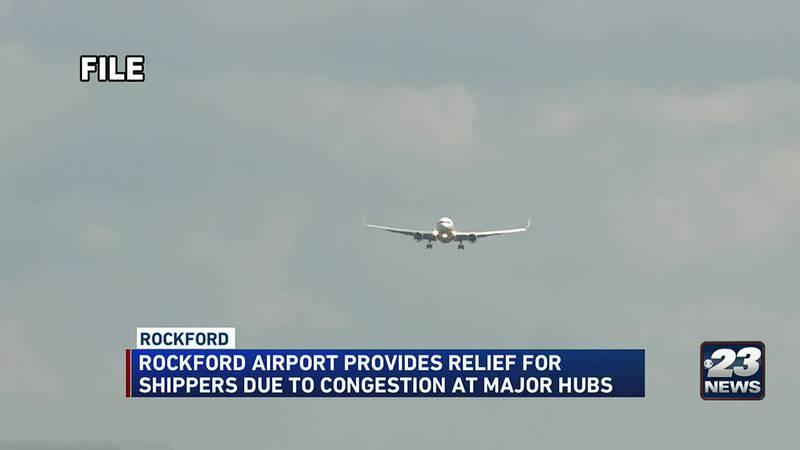 Rockford airport becomes cargo hub