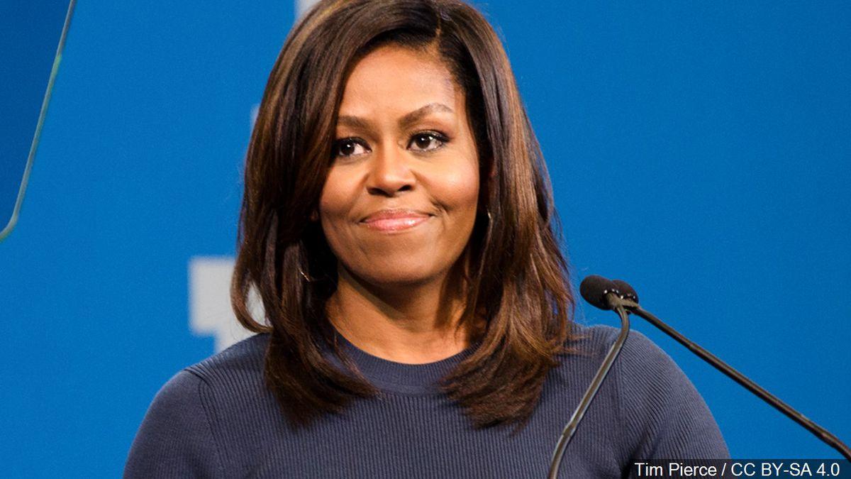 Michelle Obama (Cropped Photo: Tim Pierce / CC BY-SA 4.0)