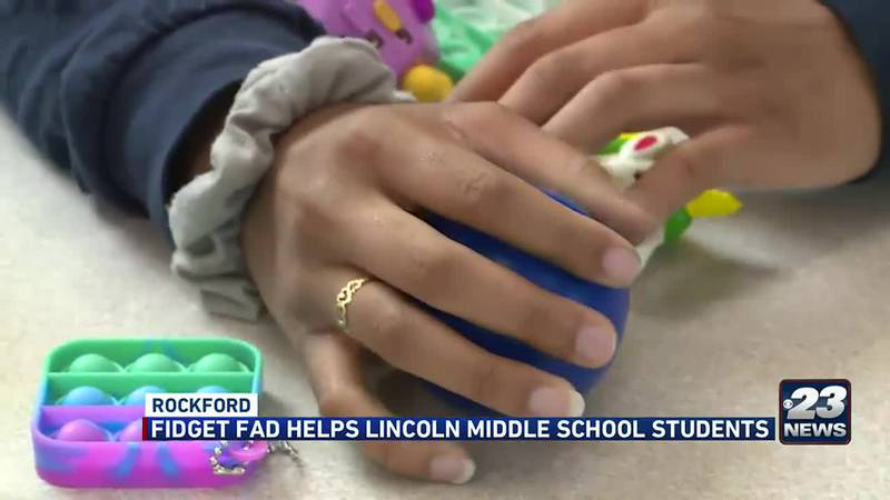 Fidget toys are finding uses in the classroom