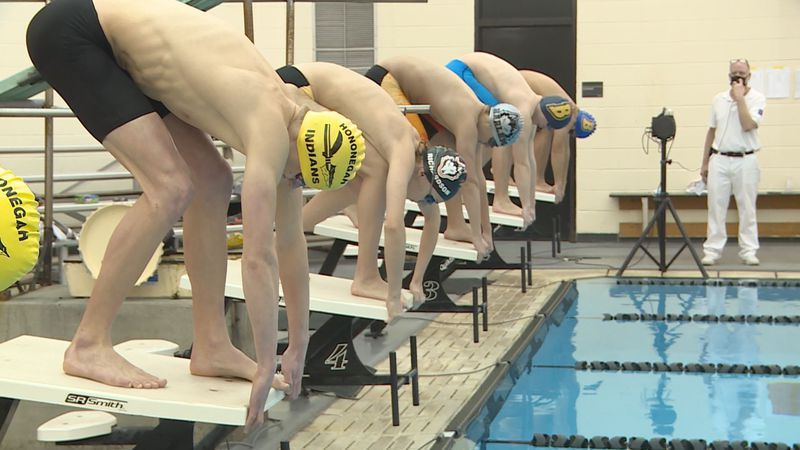 Hononegah defeated Harlem and the Belvidere Co-op to remain undefeated in boys swimming & diving.