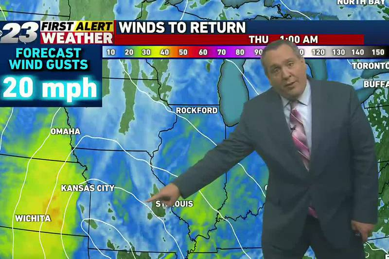 Another wind-driven rain event lies ahead of us.