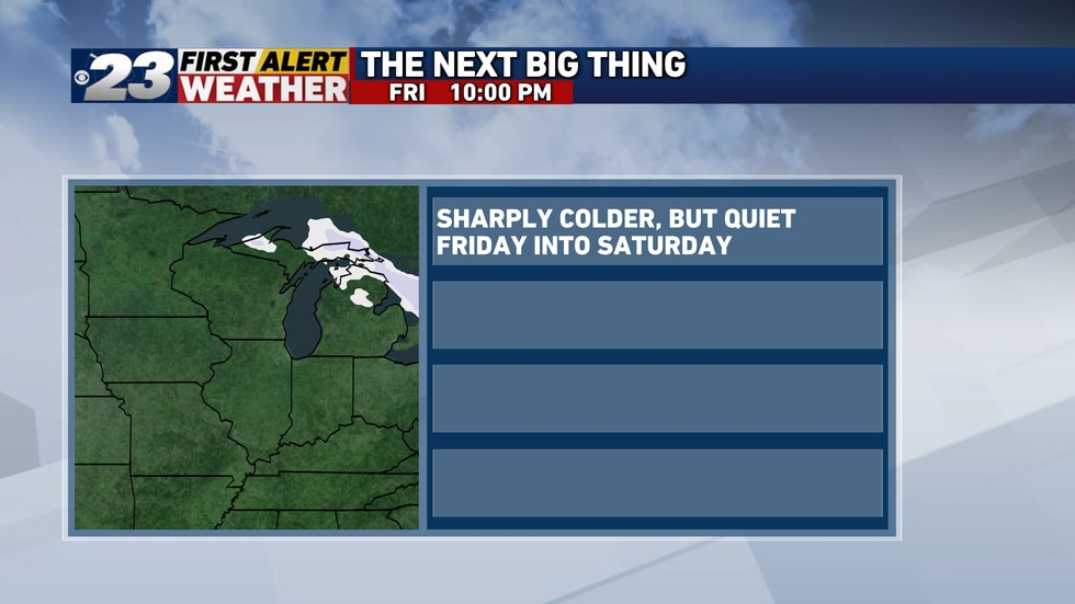 The next 48 hours are to be quiet, but among the coldest days of the winter thus far.