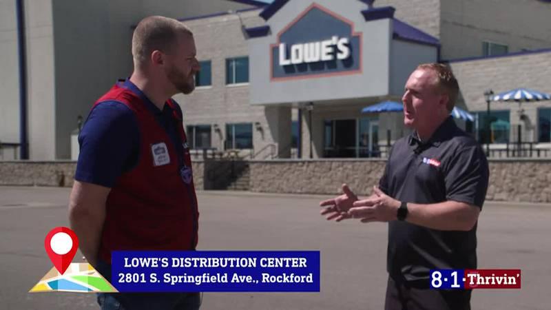 8-1-Thrivin': Lowe's Distribution Center