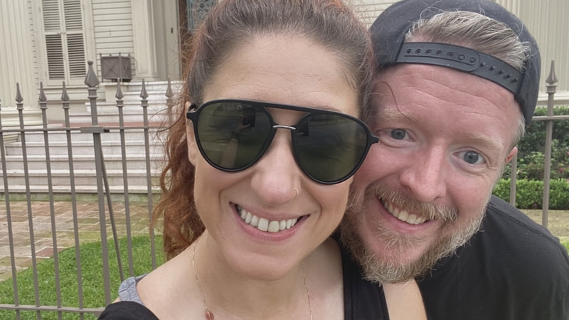 Local couple gets stranded in Louisiana as a result of Hurricane Ida