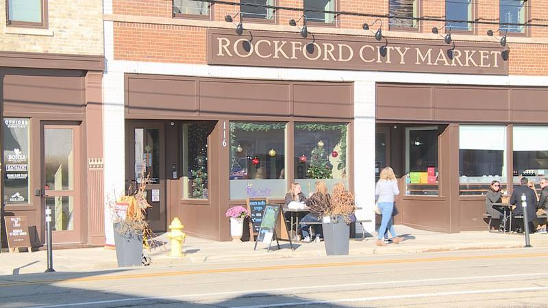 Rockford City Market got in on the Small Business Saturday action by hosting a holiday pop-up...