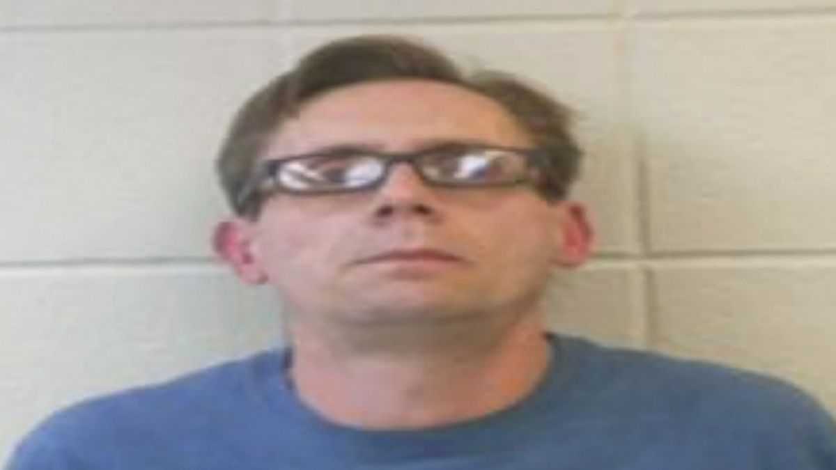 Dr. Terry Bateman is seen in an undated photo provided by the Clark County Sherrifs Office. Officials say two chemistry professors in Arkansas have been arrested on charges of manufacturing methamphetamine and using drug paraphernalia. The Clark County sheriff's office says 45-year-old Terry David Bateman and 40-year-old Bradley Allen Rowland were arrested Friday, Nov. 15. 2019. (Clark County Sheriffs Office via AP)