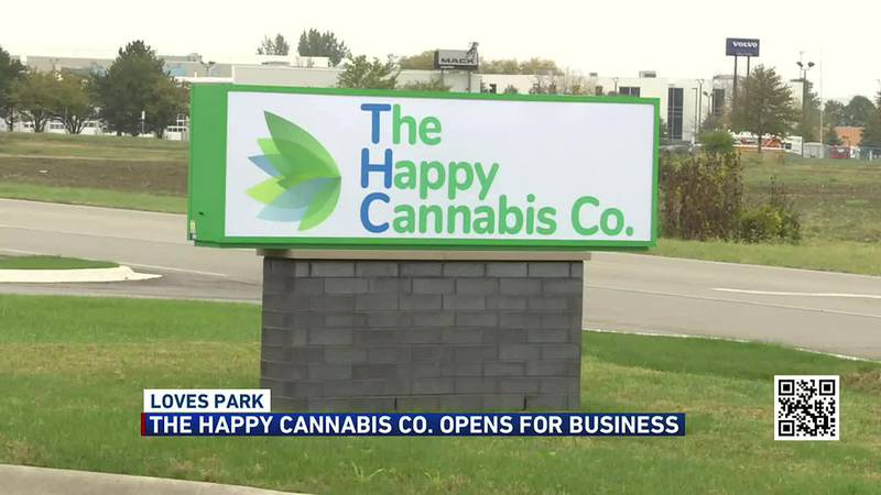 The Happy Cannabis Co. opens for business