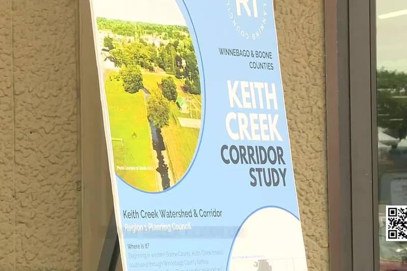 Keith Creek corridor study
