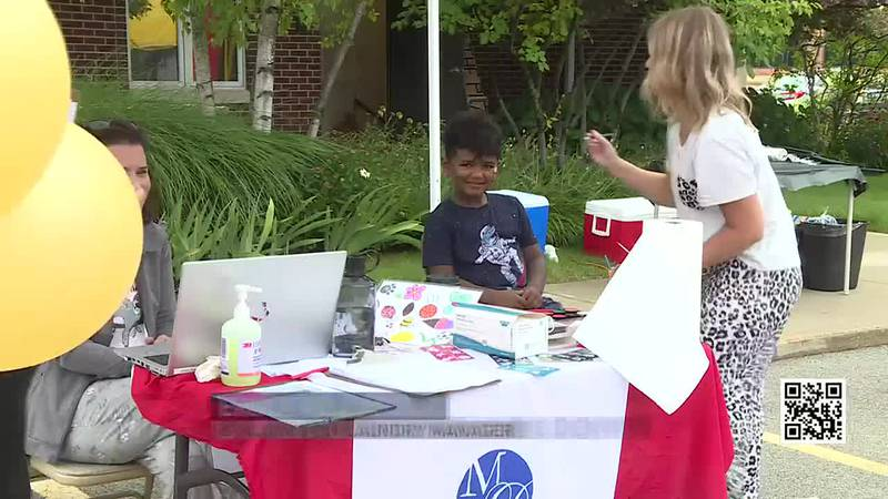 Moore Dentistry in Rockford celebrates its annual Kids Day