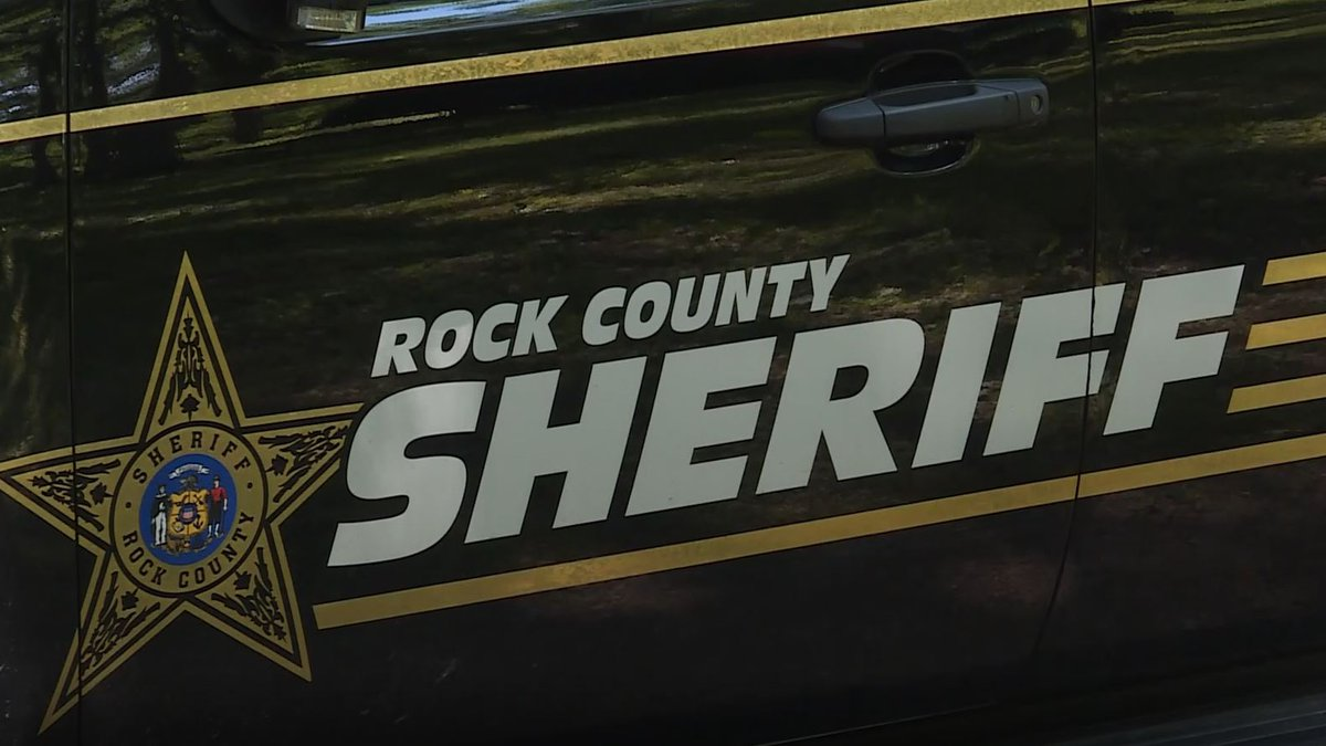 Rock County Sheriff vehicle